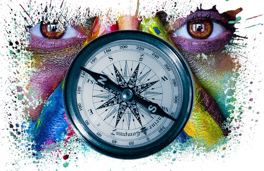 Kompass - Stellvertretend für das Thema Suchmaschinenoptimierung