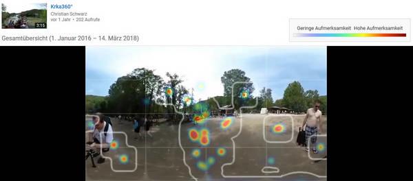 Teaserbild, Verlinkung zum Artikel: YouTube Heatmap – Wohin schaust Du?