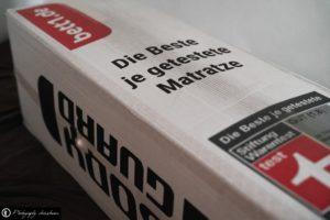 Teaserbild, Verlinkung zum Artikel: Bodyguard – Die Anti-Kartell-Matratze von bett1.de