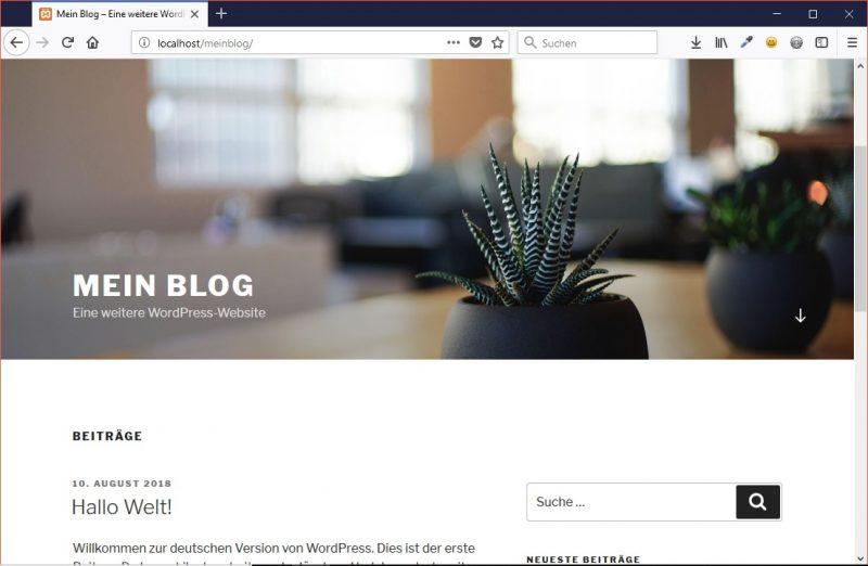 Teaserbild, Verlinkung zum Artikel: WordPress-Installation und Einrichtung (Teil 1)
