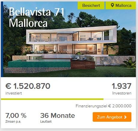 Titelbild zum Artikel Luxusvilla auf Mallorca