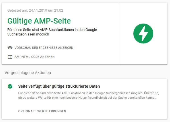 Titelbild zum Artikel Google AMP – Konversations-Rate erhöhen